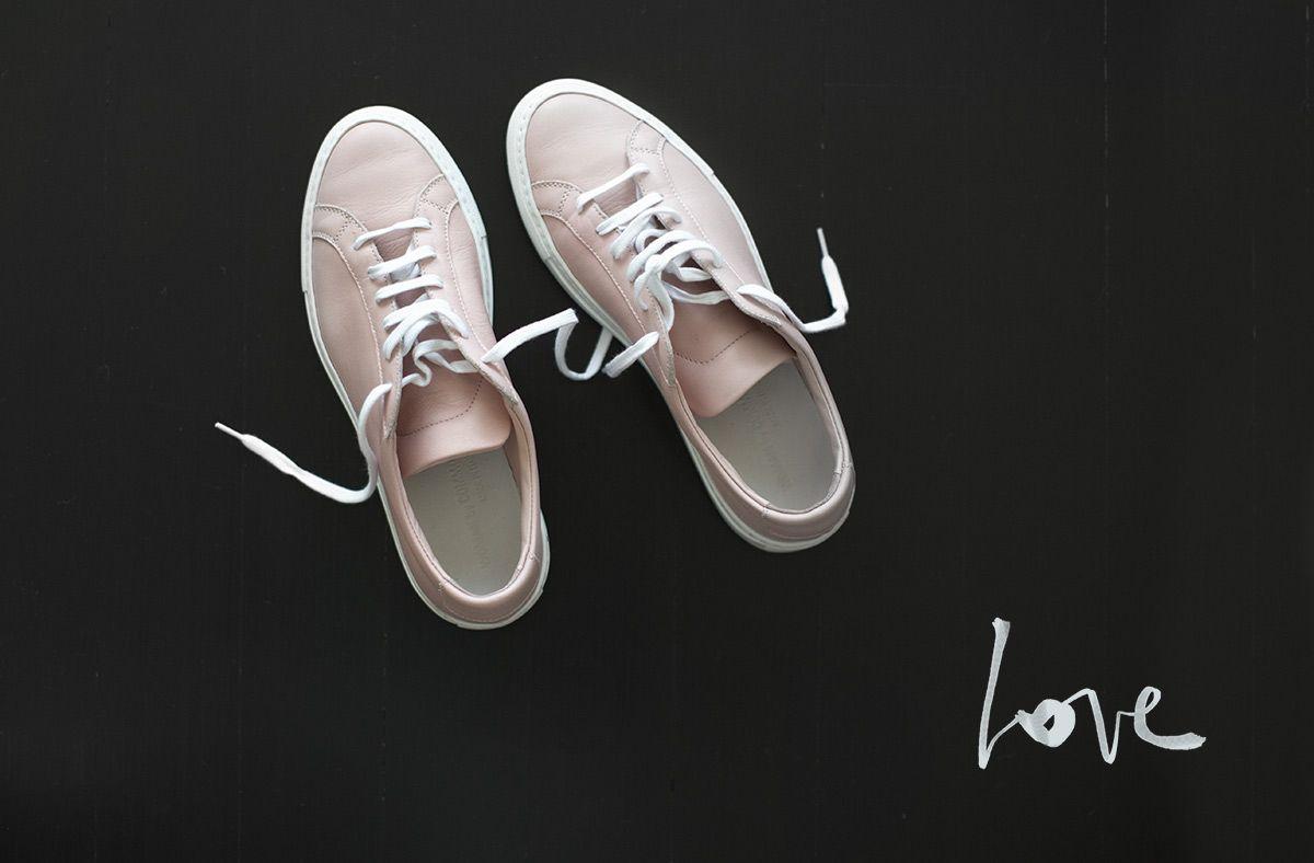 Common Projects shoes via Garance Doré