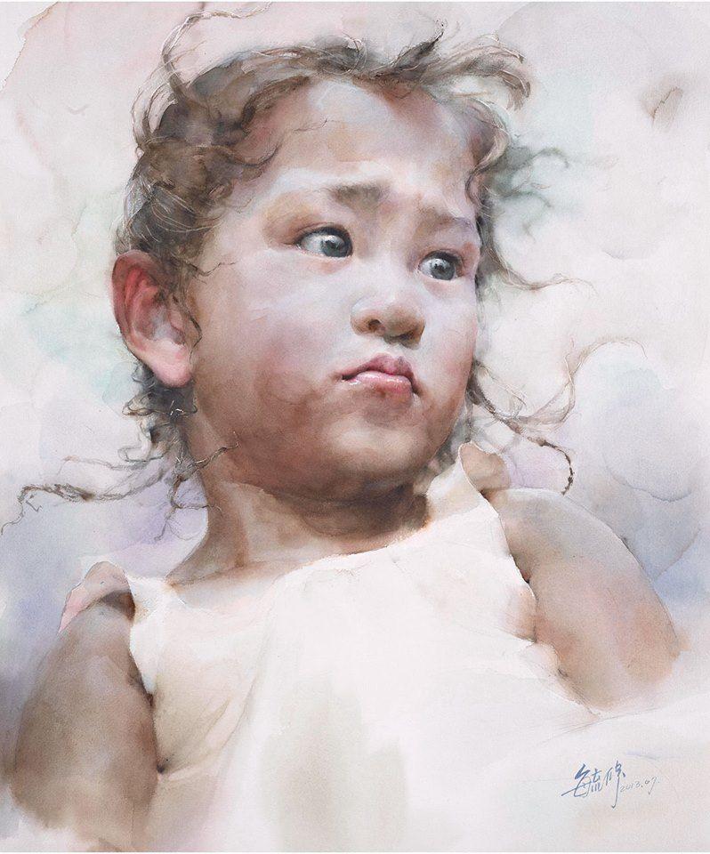 Extrêmement Yu-hsiu Lin | Pastel - portrait | Pinterest | Watercolor  BR41