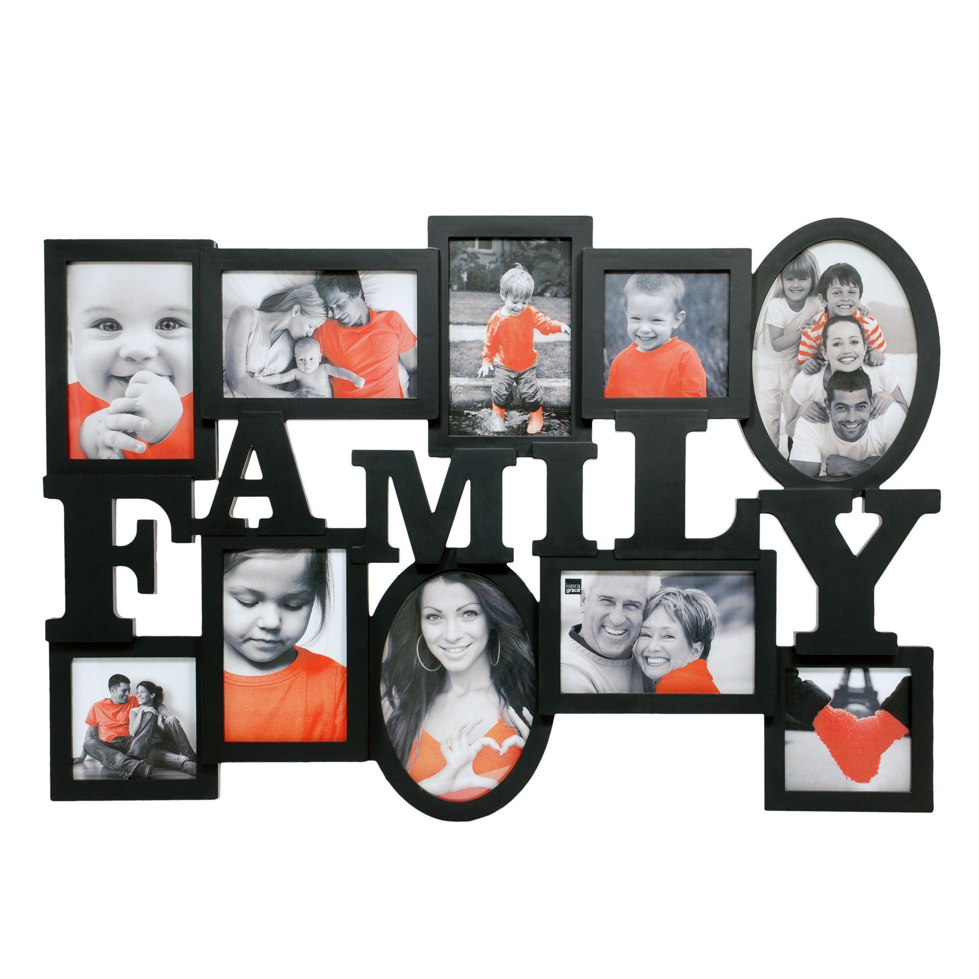 Kiera Grace Heritage Family Collage Frame With 10 Opening