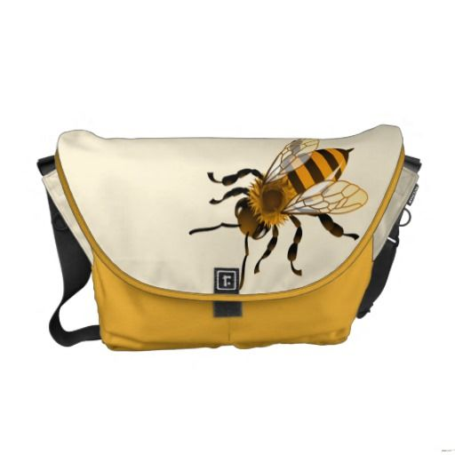 Don't Worry Bee Happy Messenger Bag - http://www.zazzle.com/dont_worry_bee_happy_messenger_bag-210117442441023945?bindingcolor=cordura_saffron&rf=238087280021604351