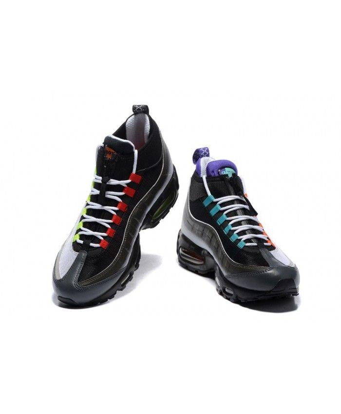 Homme Nike Air Max 95 Noir Volt Orange 806809 Chaussures