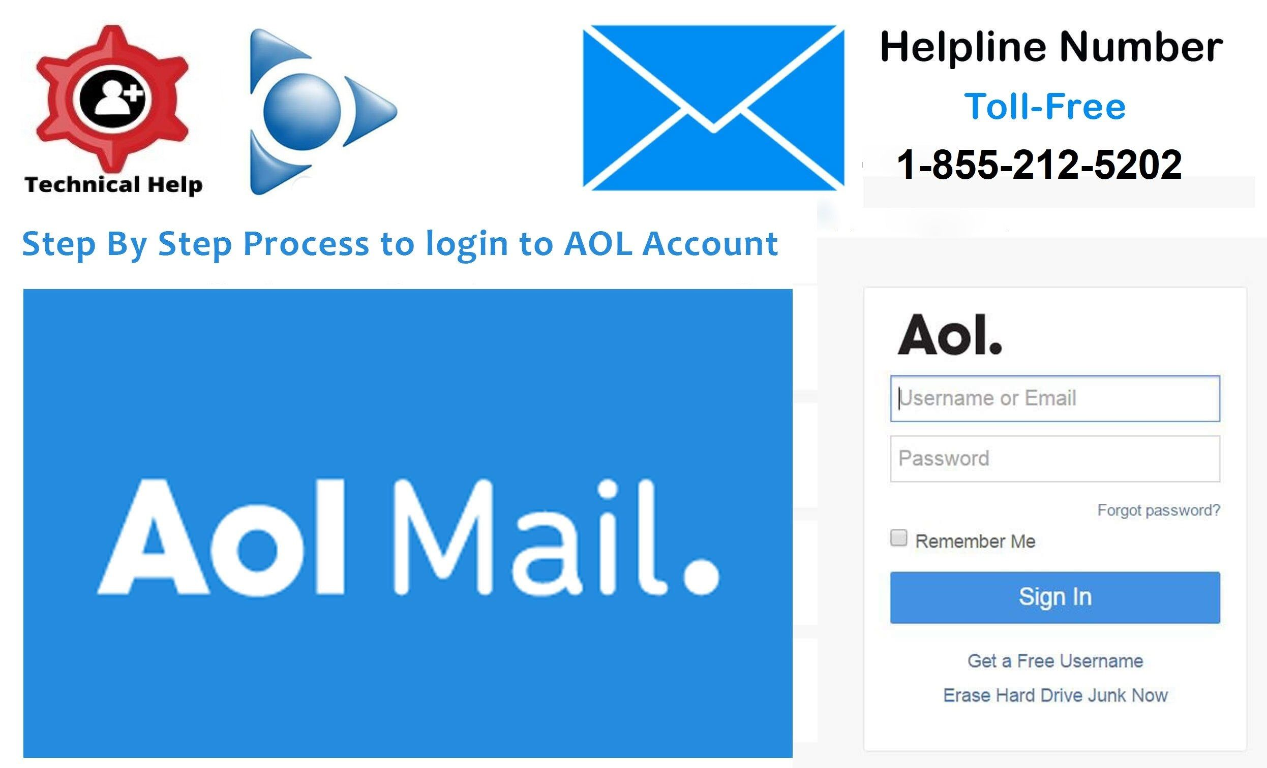 How To Fix Aol Email Login Issue Aol Support 1 833 346 3444