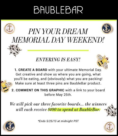 pin your dream Memorial Day w.eekend! | Memorial day ...