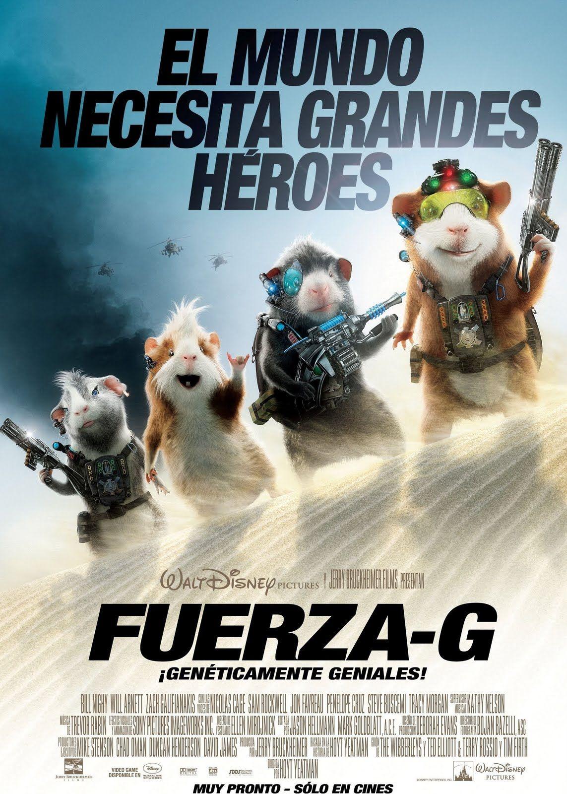 Fuerza G Fuerza G Peliculas De Disney Peliculas