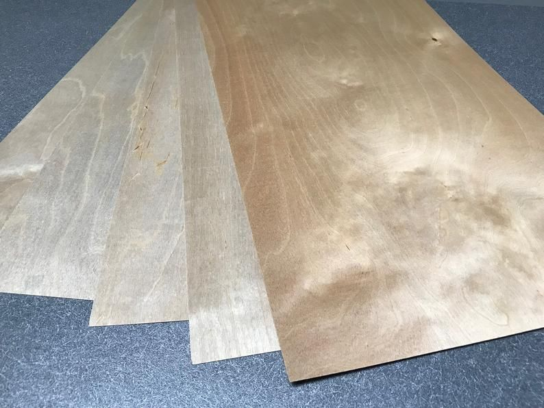 5 Sheets Of 1 64 4mm 12 X 24 Finnish Etsy In 2020 Birch Plywood Thin Plywood Sheets