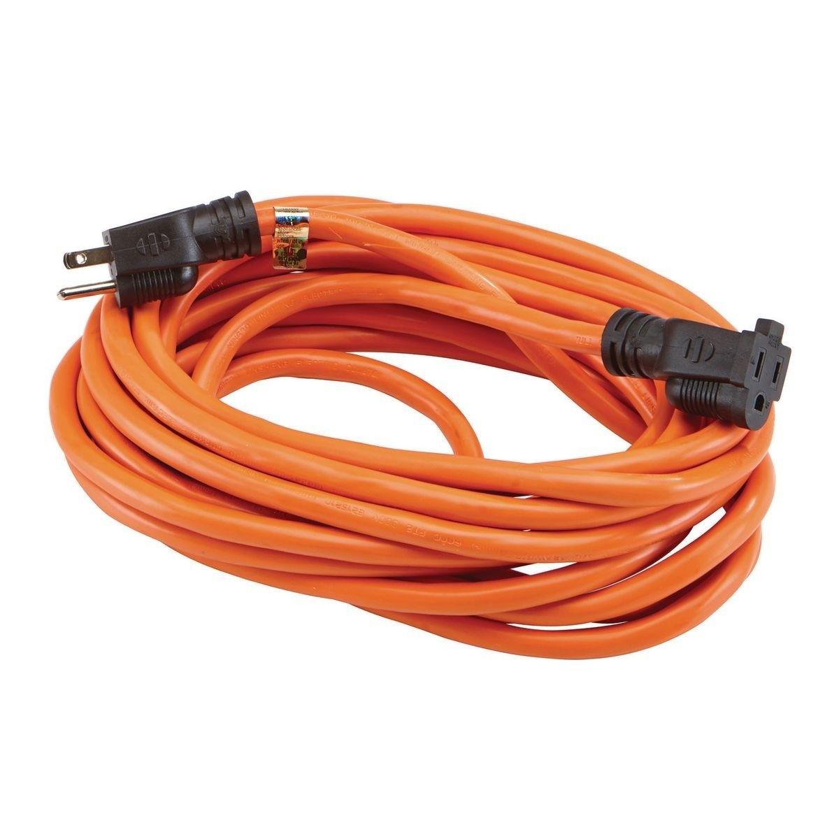 25 Ft X 12 Gauge Outdoor Extension Cord In 2020 Outdoor Extension Cord Extension Cord 12 Gauge