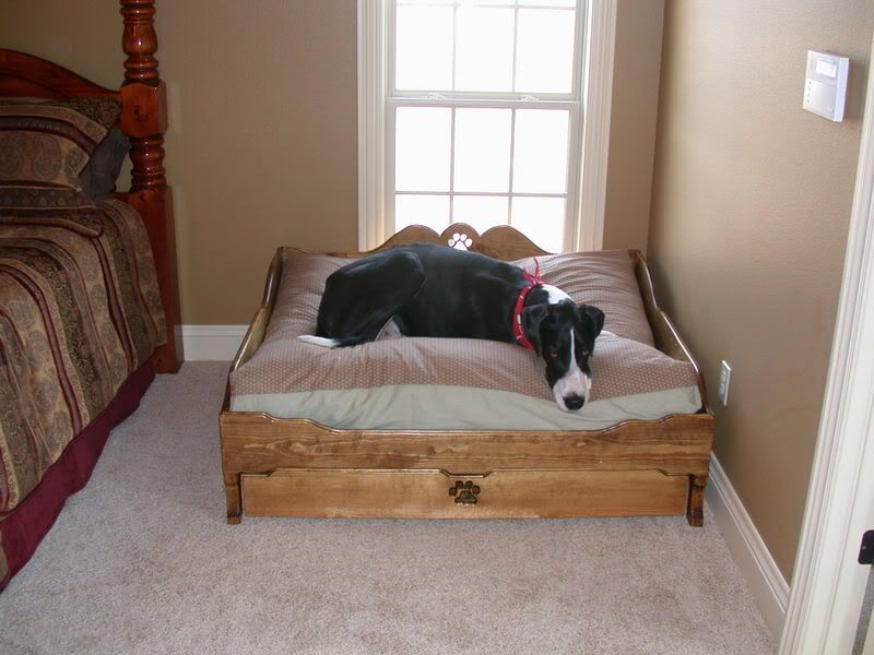 I Want This Bed For My Future Dog Big Dog Beds Rustic Dog
