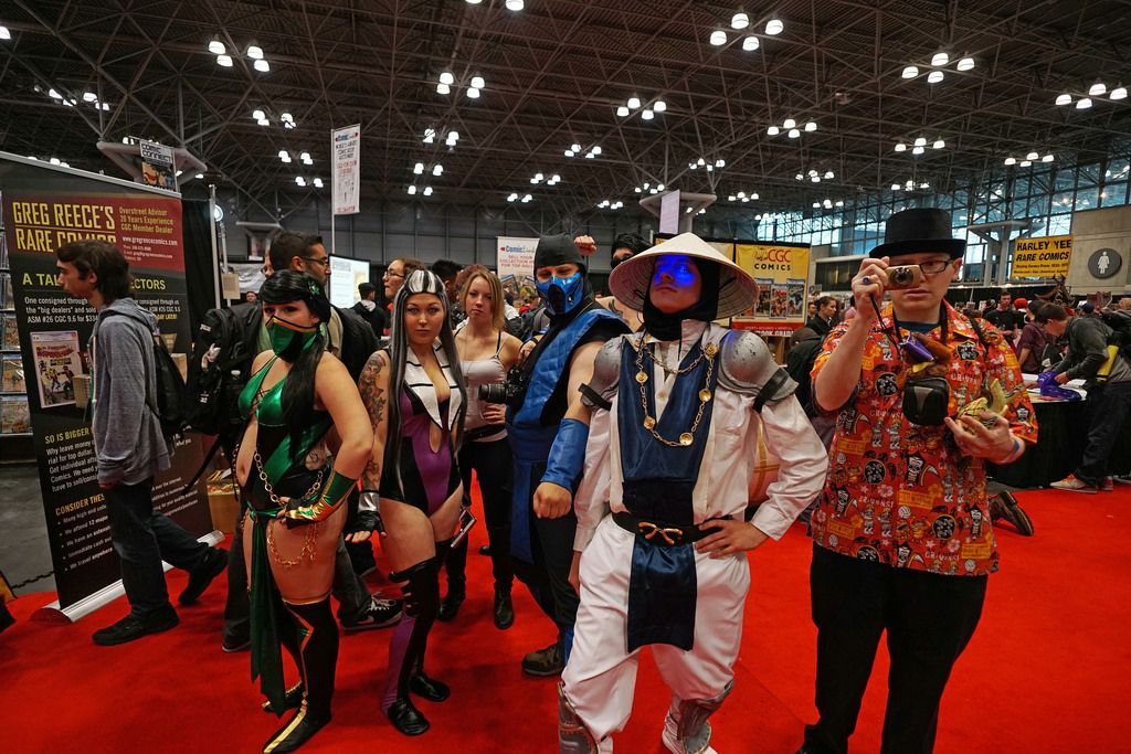 The Middle East is basically a Comic Con gone horribly wrong. A bunch of guys in weird costumes idolizing a fictional superhero. #ComicCon