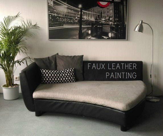 This Is A Really Cheap And Nice Way To Paint All The Faux Leather You Have  ! It Works For Furniture, Bags, Jackets, Etc. When Me And My Boyfriend  Moved In ...
