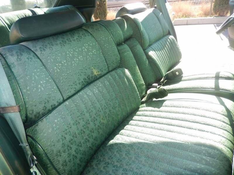 1975 Chrysler New Yorker Green Cloth Interior Chrysler New