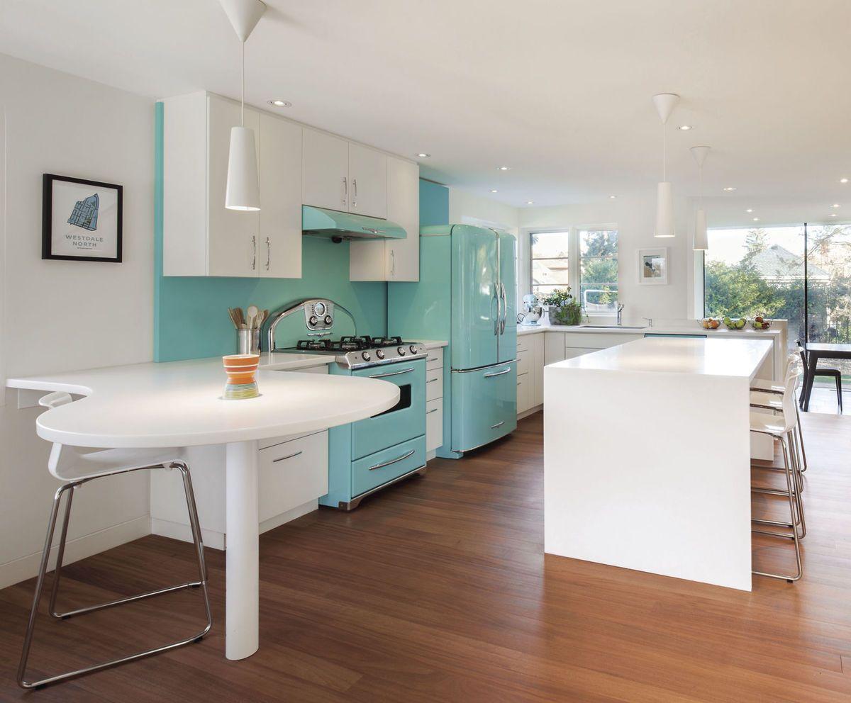 100+ Retro Kitchen Remodel - Kitchen Counter Decorating Ideas Check ...