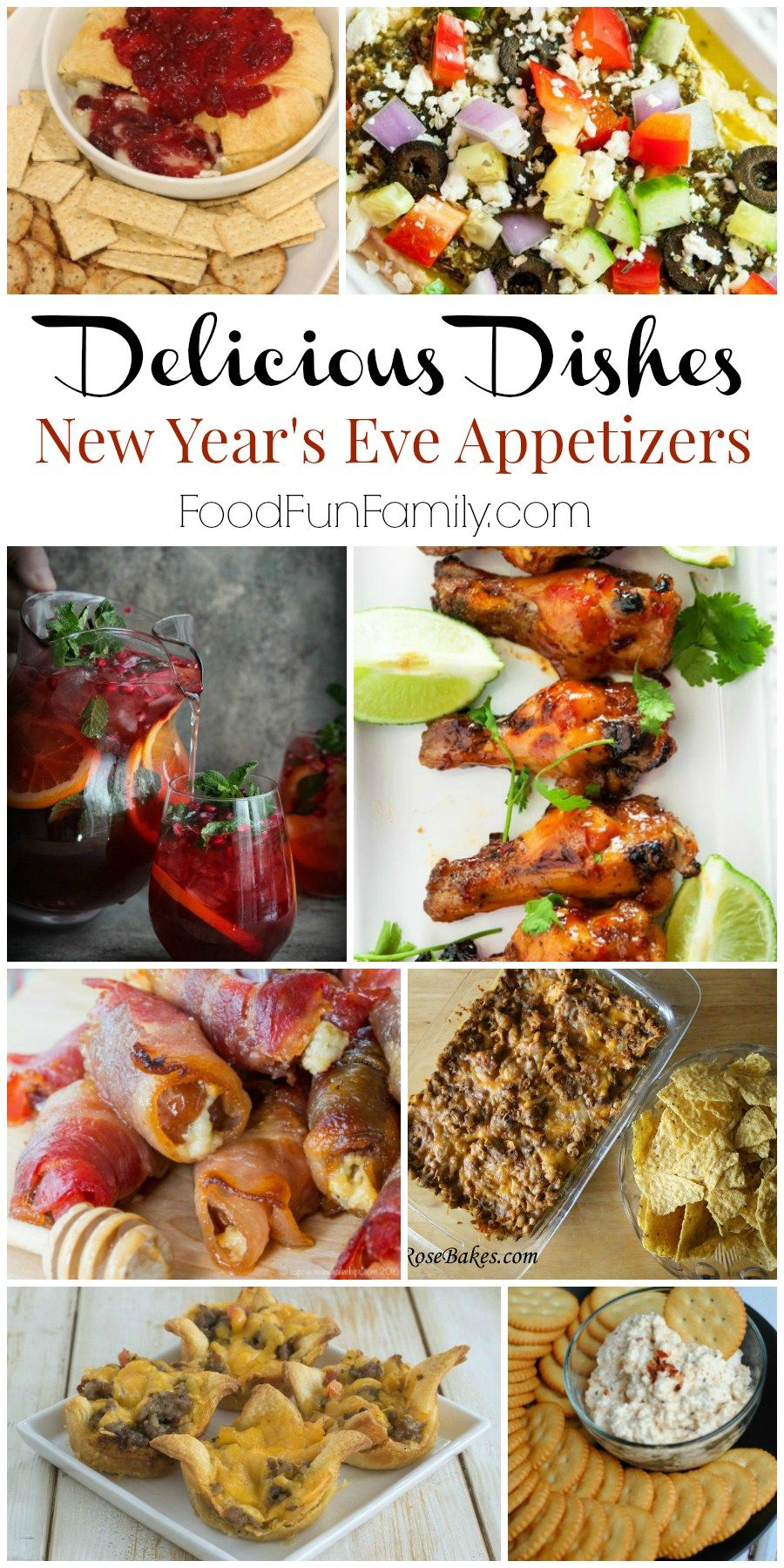 New Year S Eve Appetizer Recipes Delicious Dishes Appetizers