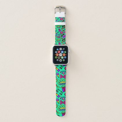 Digital Art Pattern Apple Watch Band Apple