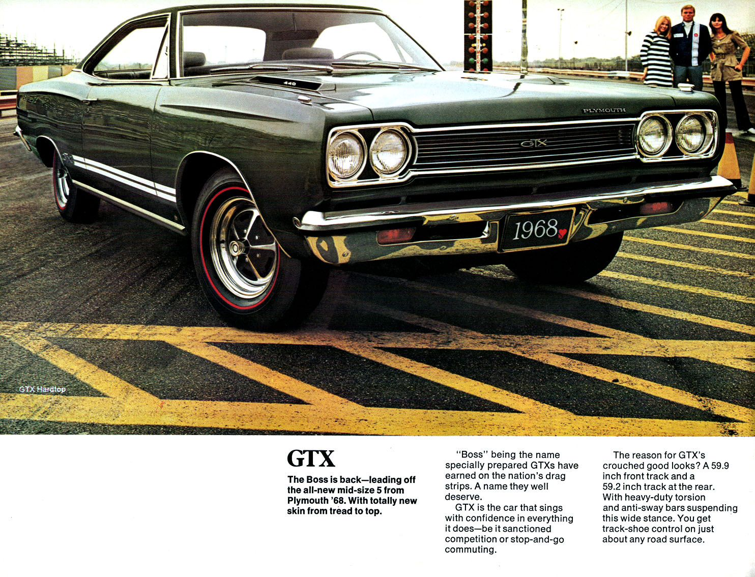 Awesome 1968 Plymouth Gtx Brochure Vintage Car Ads Pinterest 68 Charger 440 Wiring Diagram