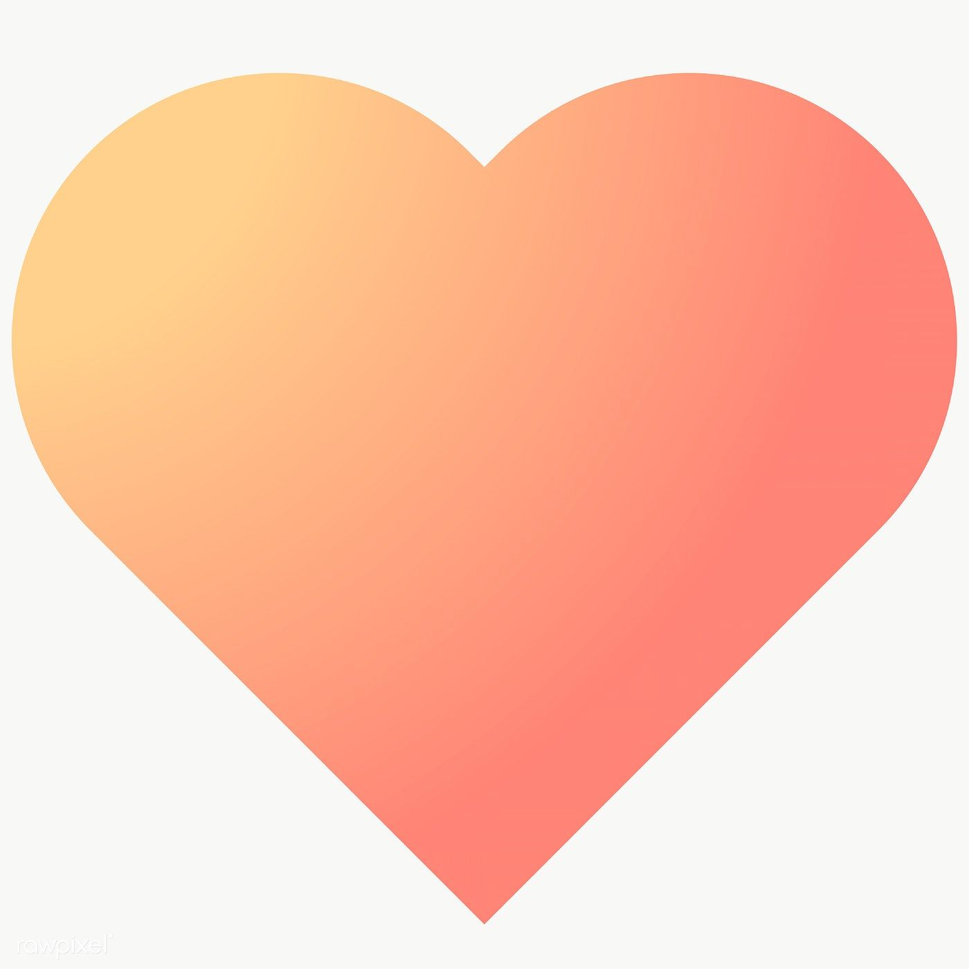 Download Premium Png Of Colorful Heart Gradient Element 1235084