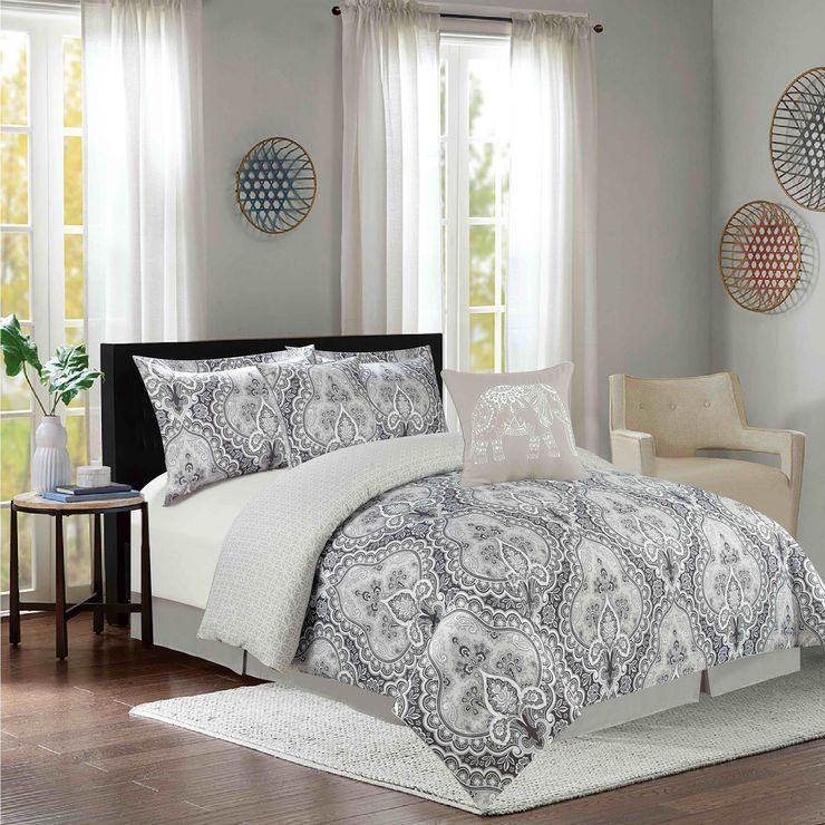 RICHMOND PRINT5PC SET Home, Comforter sets, Room