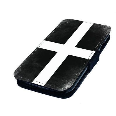 Cornwall kernow flag   #printed faux #leather flip phone #cover case,  View more on the LINK: http://www.zeppy.io/product/gb/2/152215780068/