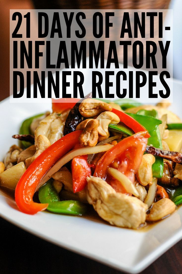 21 Day Anti Inflammatory Diet To Detox And Reduce