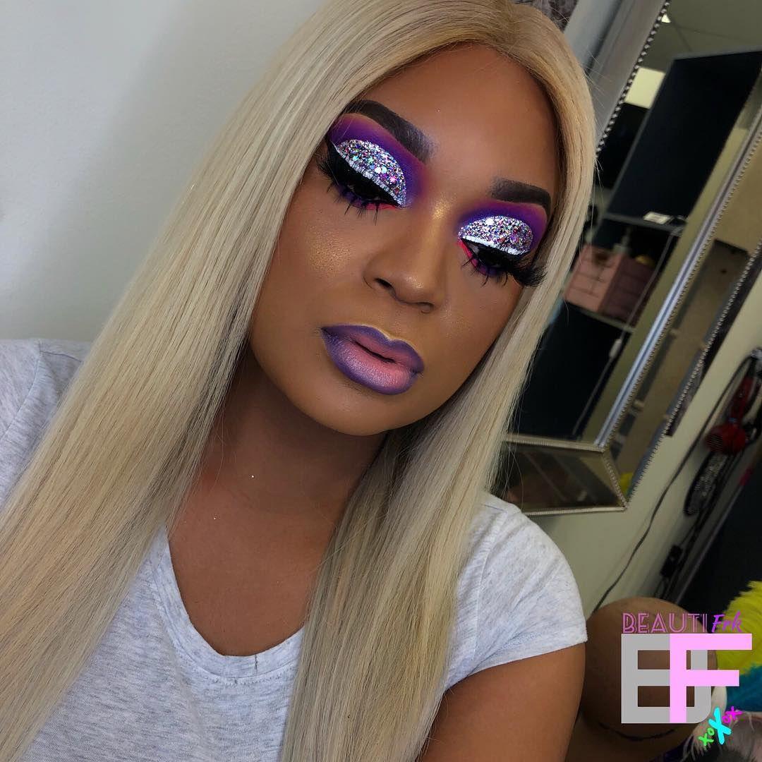 "Atlanta Makeup Artist on Instagram ""Wig made, colored"