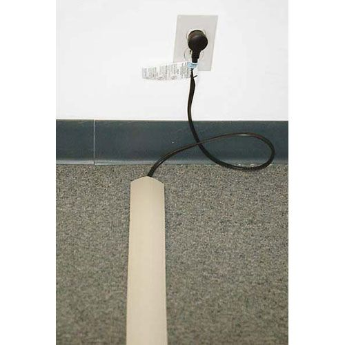 Good For Under Rugs. Flat Electrical Power Extension Cord   Color: Black    10ft   UL Listed | Good Ideas | Pinterest | Extensions, Cord And Hiding  Cords