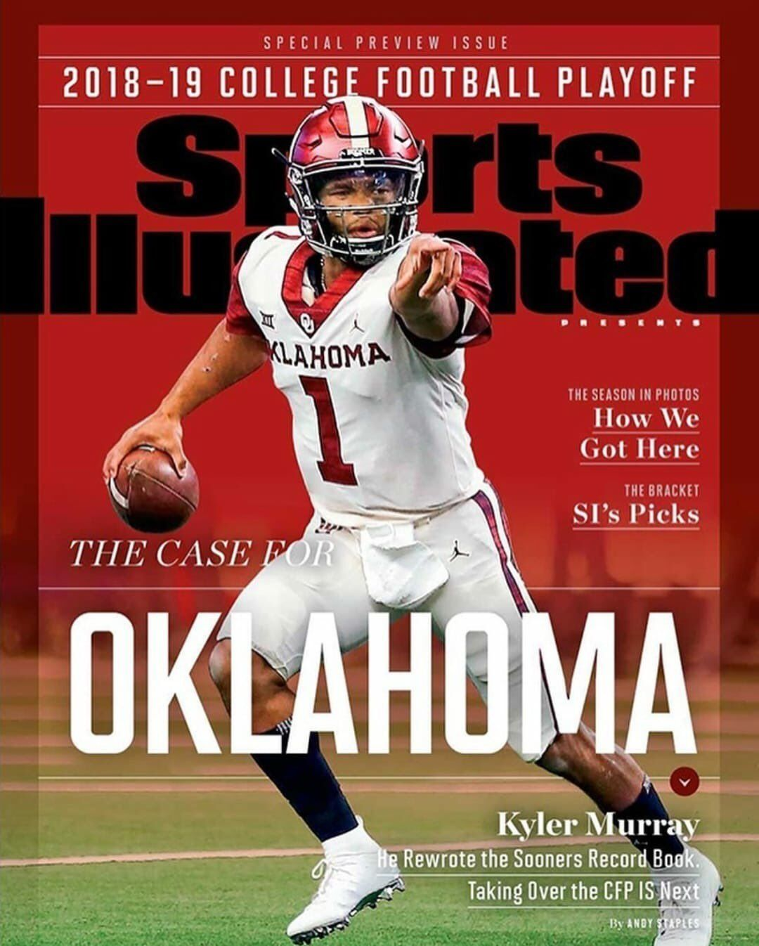 Chris Lambakis On Twitter Oklahoma Sooners Football Sports Illustrated Covers College Football Playoff