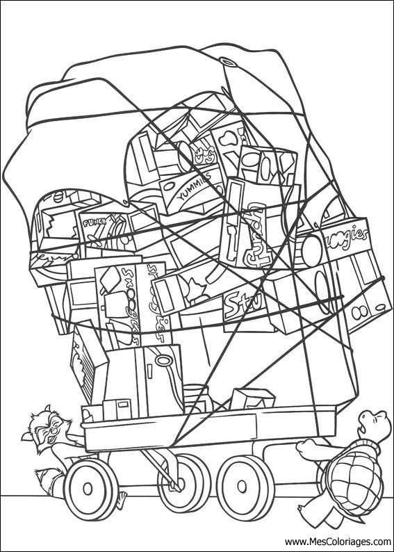 Over The Hedge Coloring Sheets Yahoo Image Search Results
