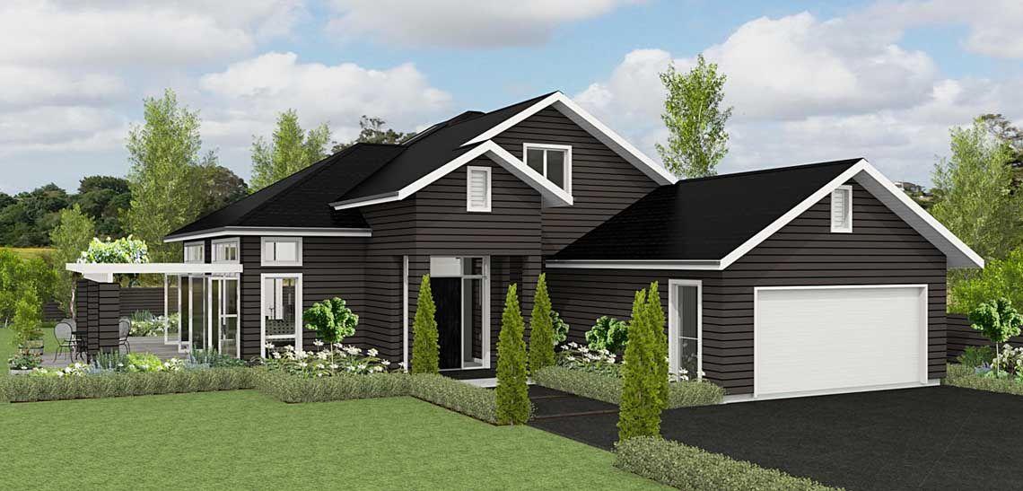 Durham bedroom house design landmark homes builders nz also dream rh pinterest
