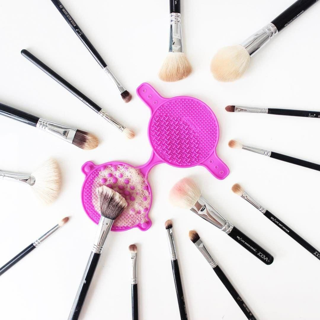 via adanink (With images) How to clean makeup brushes
