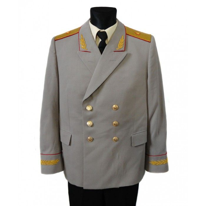 Russian military Officers everyday suit Soviet Army khaki uniform