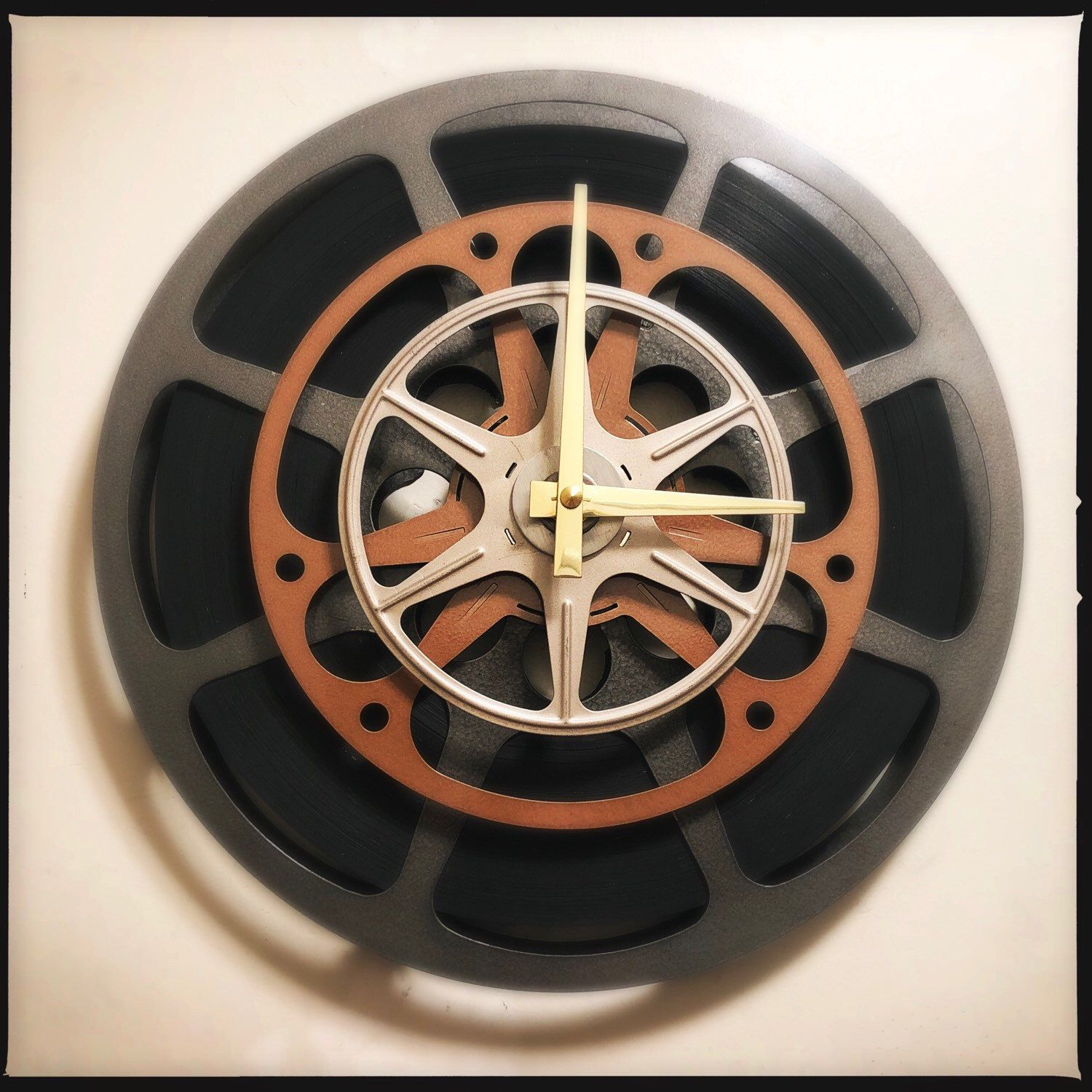 Tons Of Film Reel Wall Clocks For Sale In My Etsy Shop In