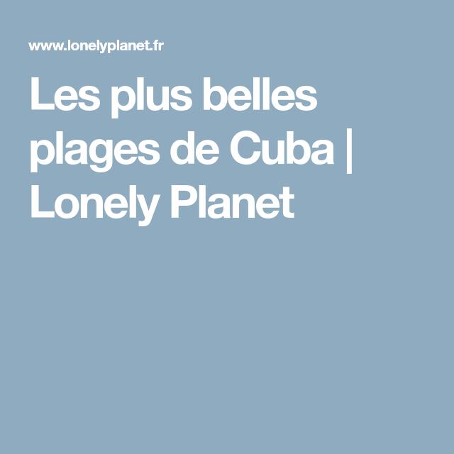 Les plus belles plages de Cuba | Lonely Planet