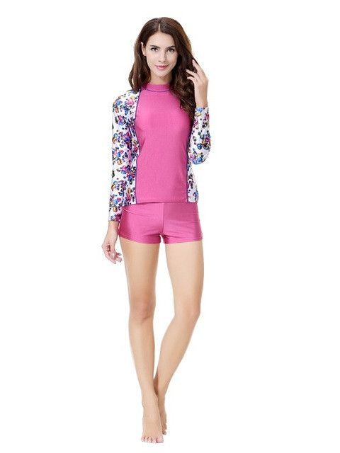 low priced new images of wholesale online Short sleeve muslim girl swimsuit swimwear modesty style ...