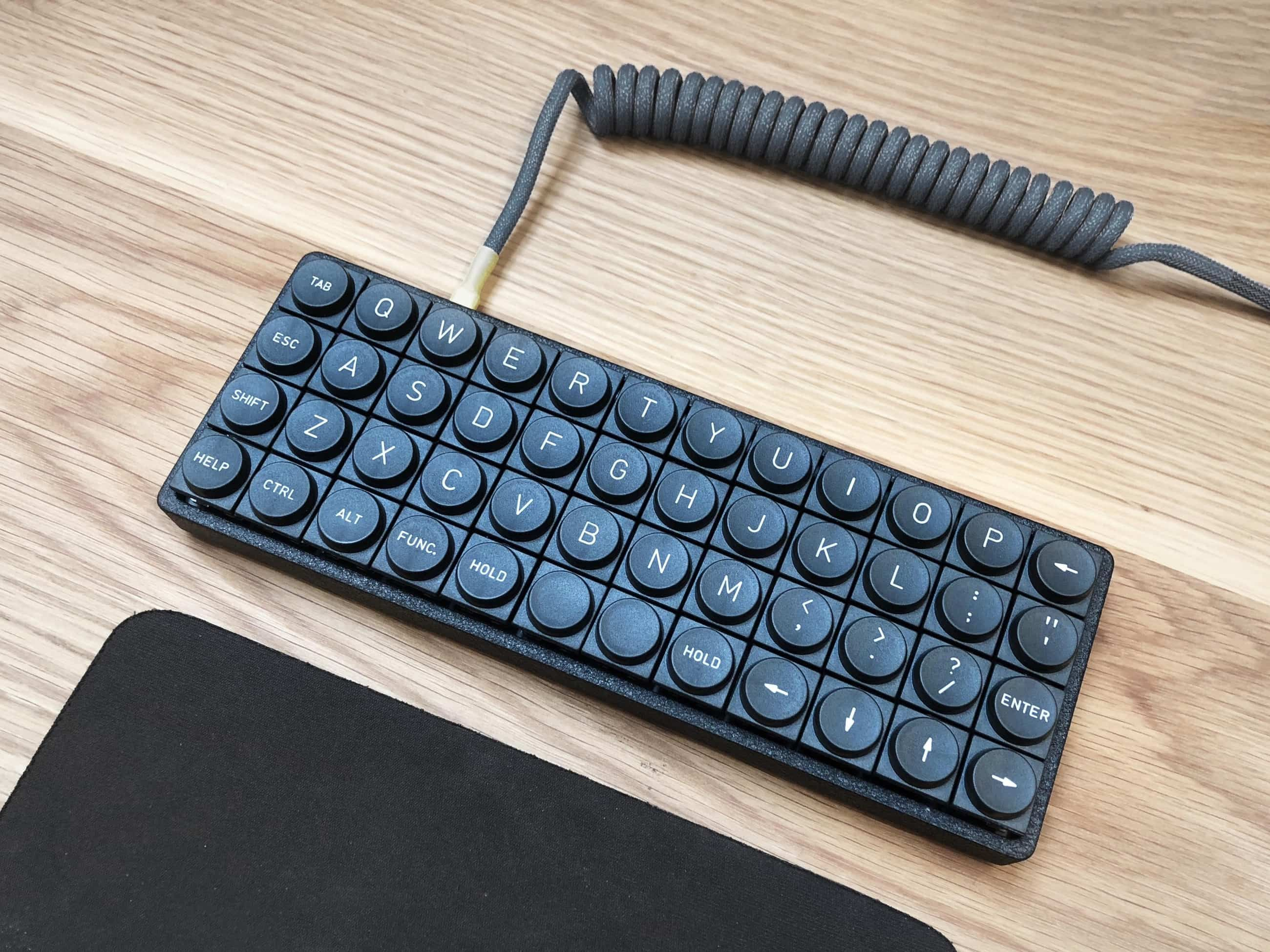 Planck Keyboard Teletype Z Series Delvin Ortholinear Round Keys
