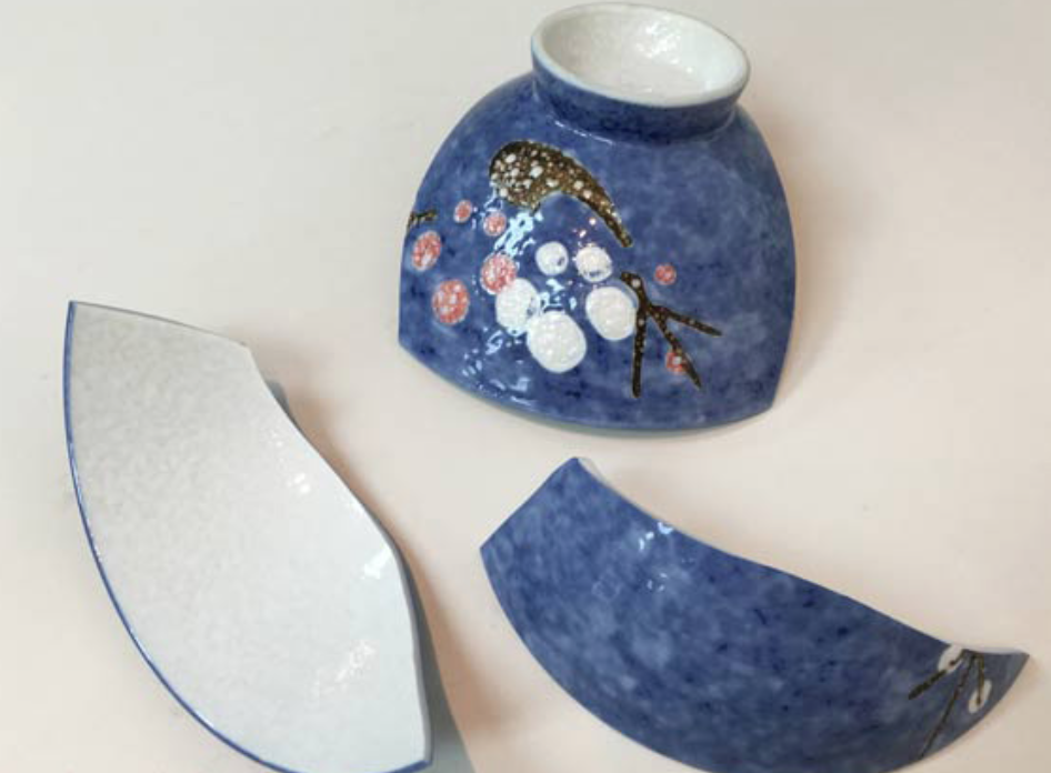 The Best Way To Restore A Broken Ceramic Object Is By Using A Cold Materials Process With Modern Adhesives Pottery Making Illustrated Pottery Ceramic Poppies