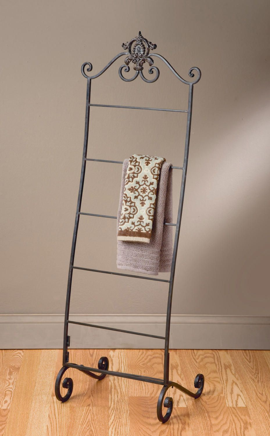 Scarf Towel Floor Rack Add A Touch Of Class With Our Floor
