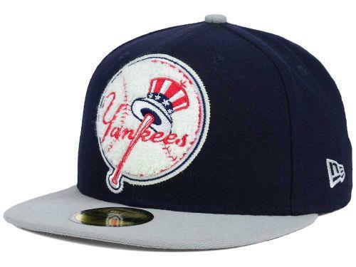 New York Yankees MLB Big Chenille New Era 59Fifty Fitted Cap #NewYorkYankees  http://stores.ebay.com/LYLACS-4U?_rdc=1
