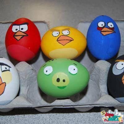 Angry Eggs!!!