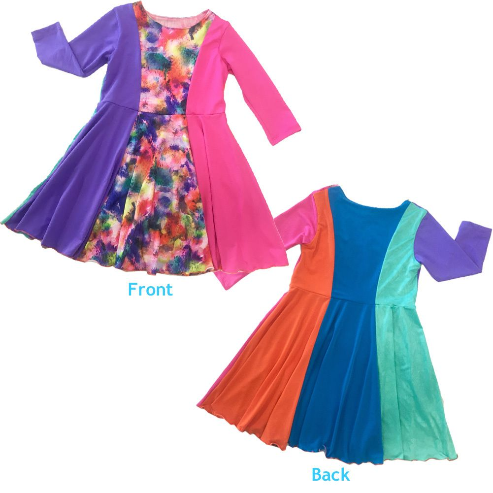 TwirlyGirl - Rainbow Catcher Twirly Dress   Be Hue to Yourself, $67.00…