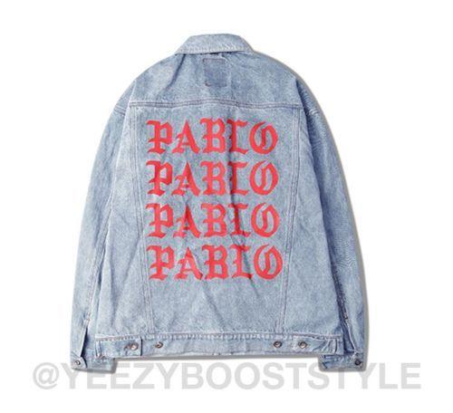 Kanye West Life Of Pablo Denim Jacket