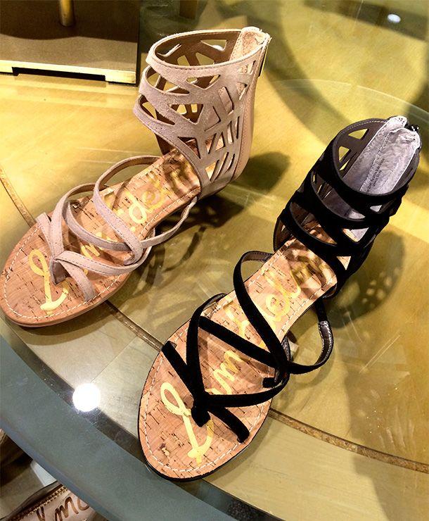 Spring Fever Fashion: Anthropologie Dresses and Sandals From Nordstrom. Sam Edelman Dana Leather Sandal, $99.95.