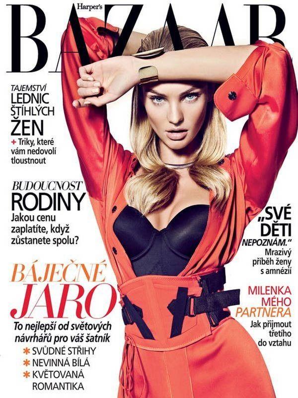 Candice Swanepoel for Harper's Bazaar Czech March 2012