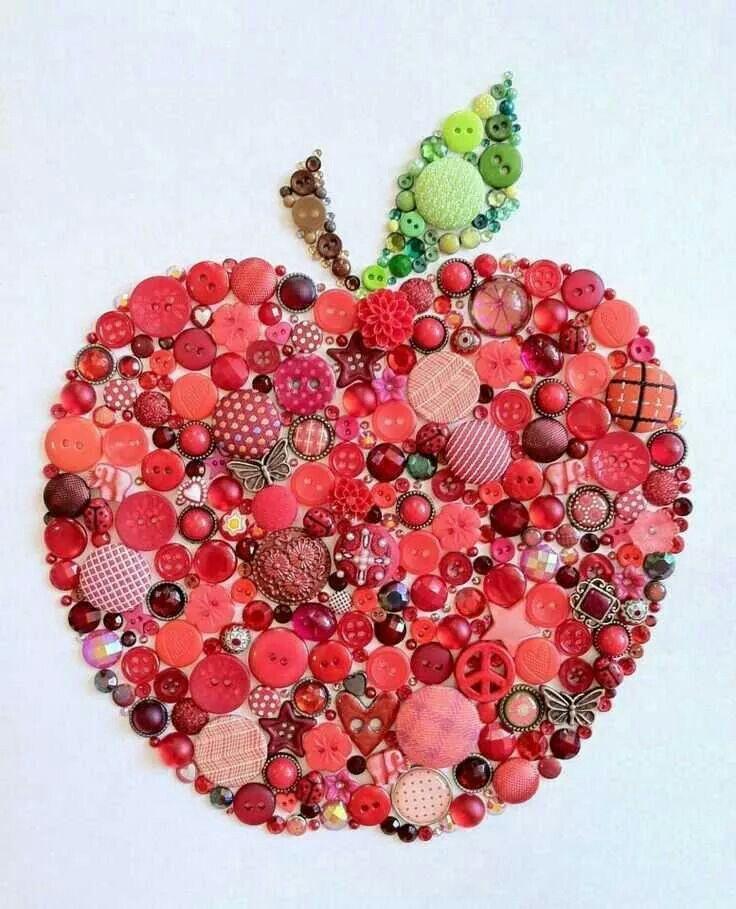 Manzana botones
