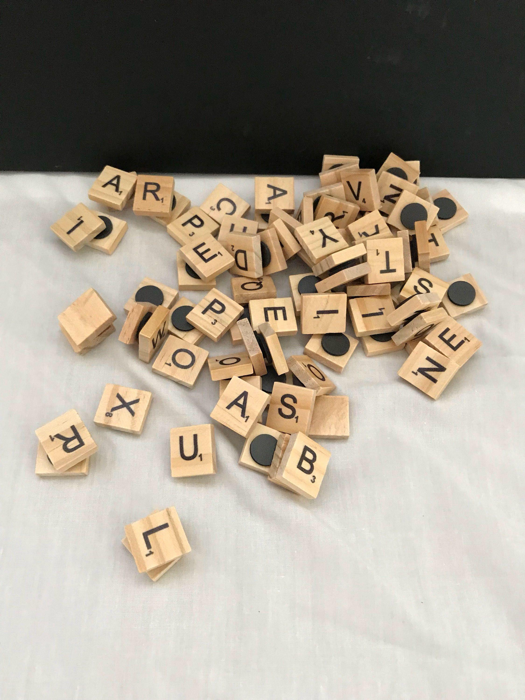 FLASH SALE Scrabble Scrabble Pieces