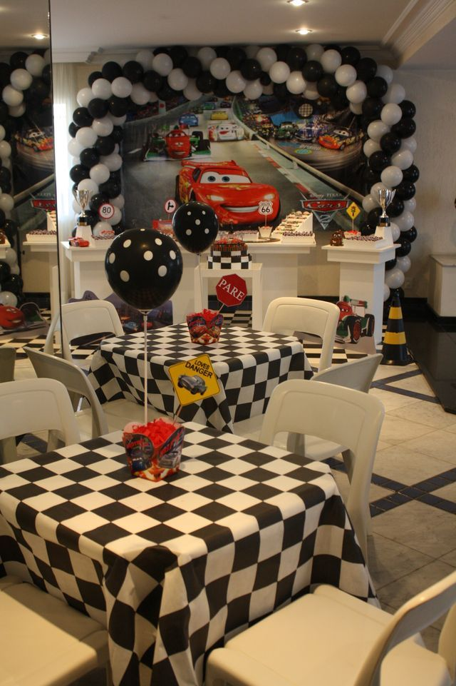 Birthday Party Themes Cars Themed Decorations 3 Year Old