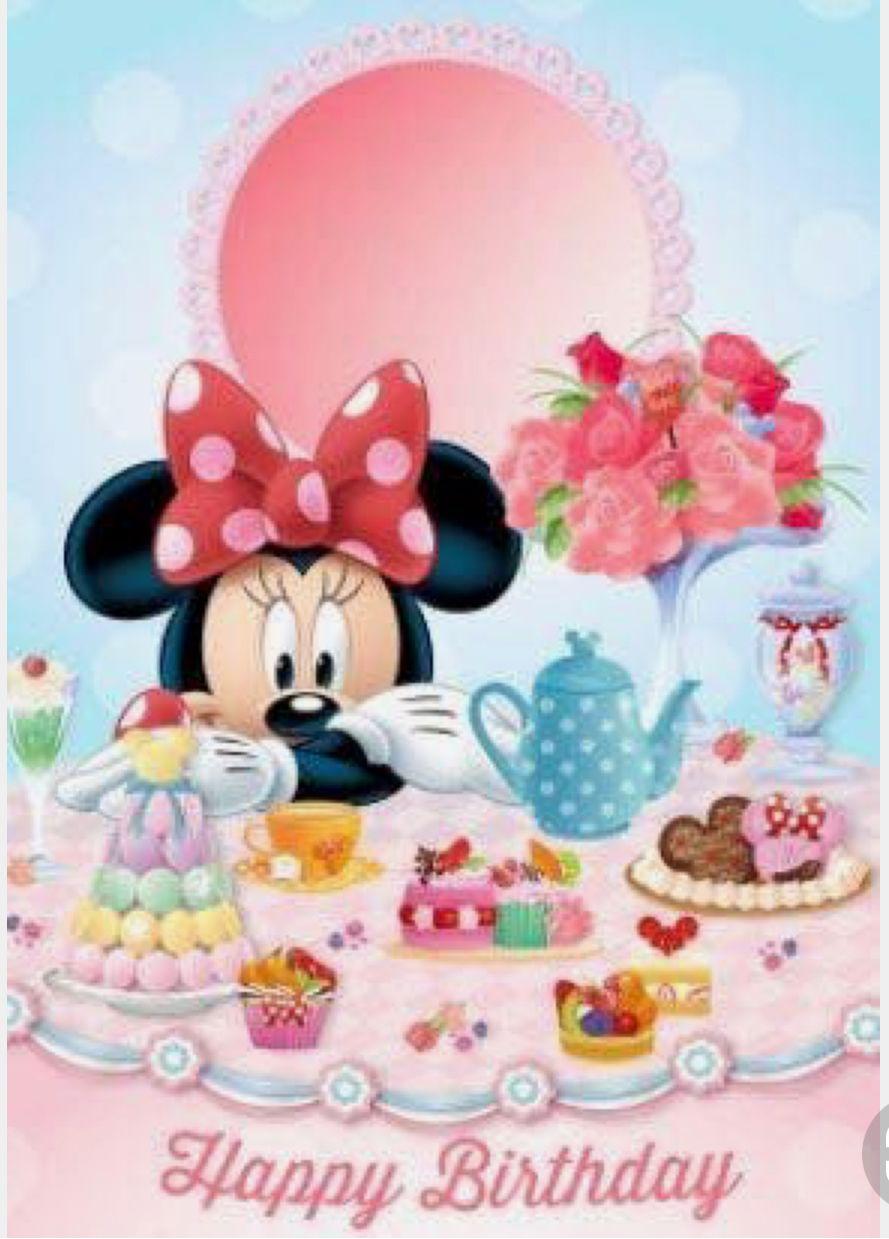 Disney Happy Birthday Happy birthday disney, Happy
