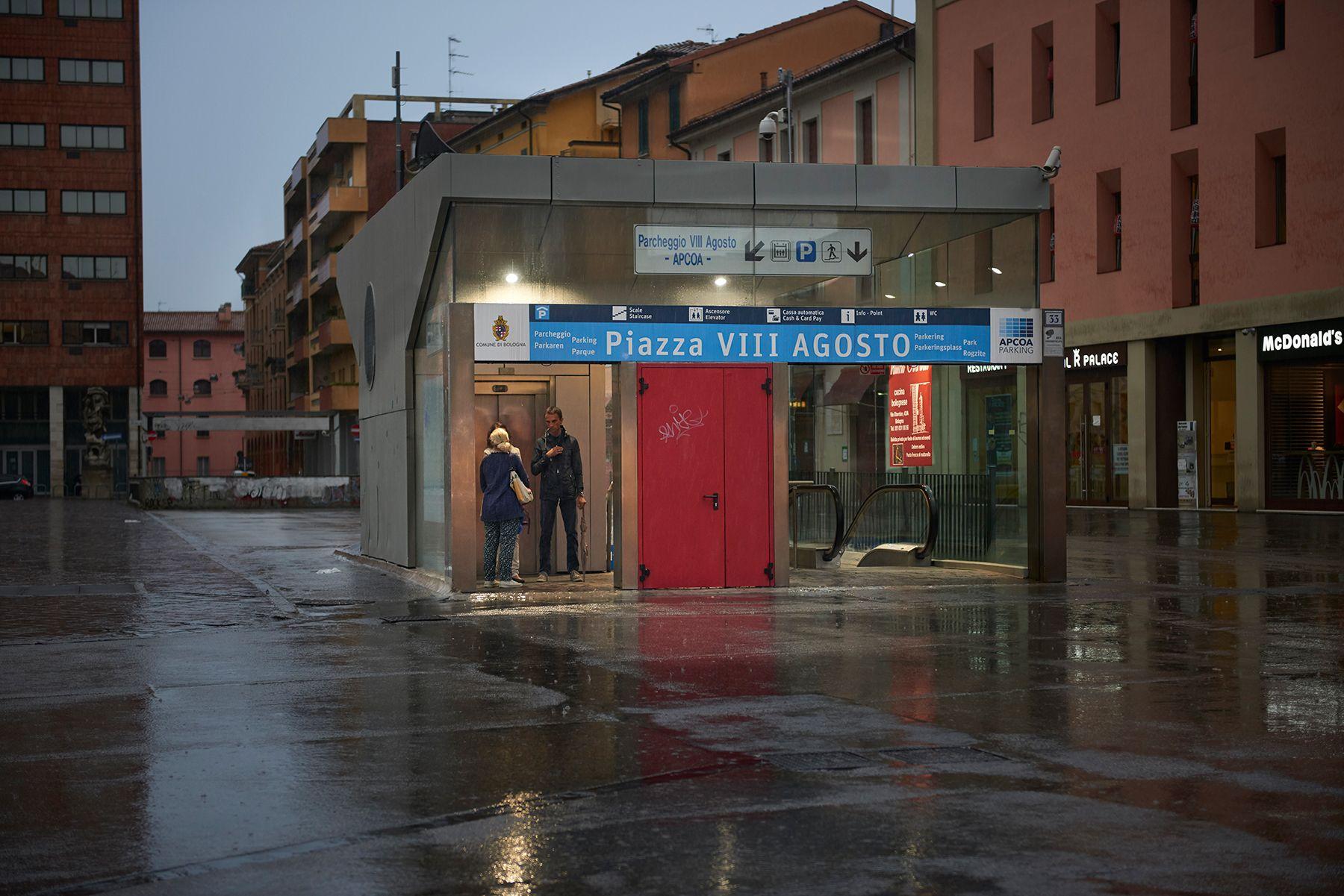 Piazza VIII Agosto -Bolonia-