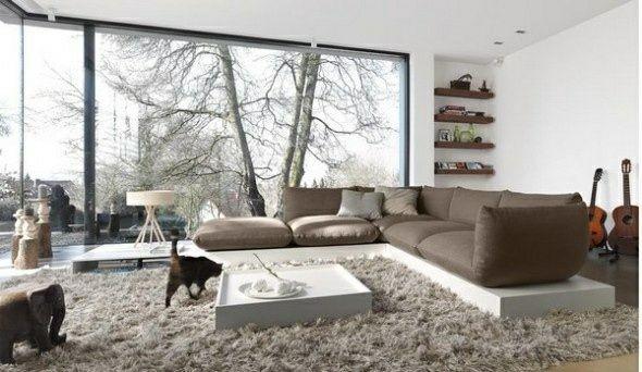 25 idées design pour la déco salon chaleureux en hiver Salons