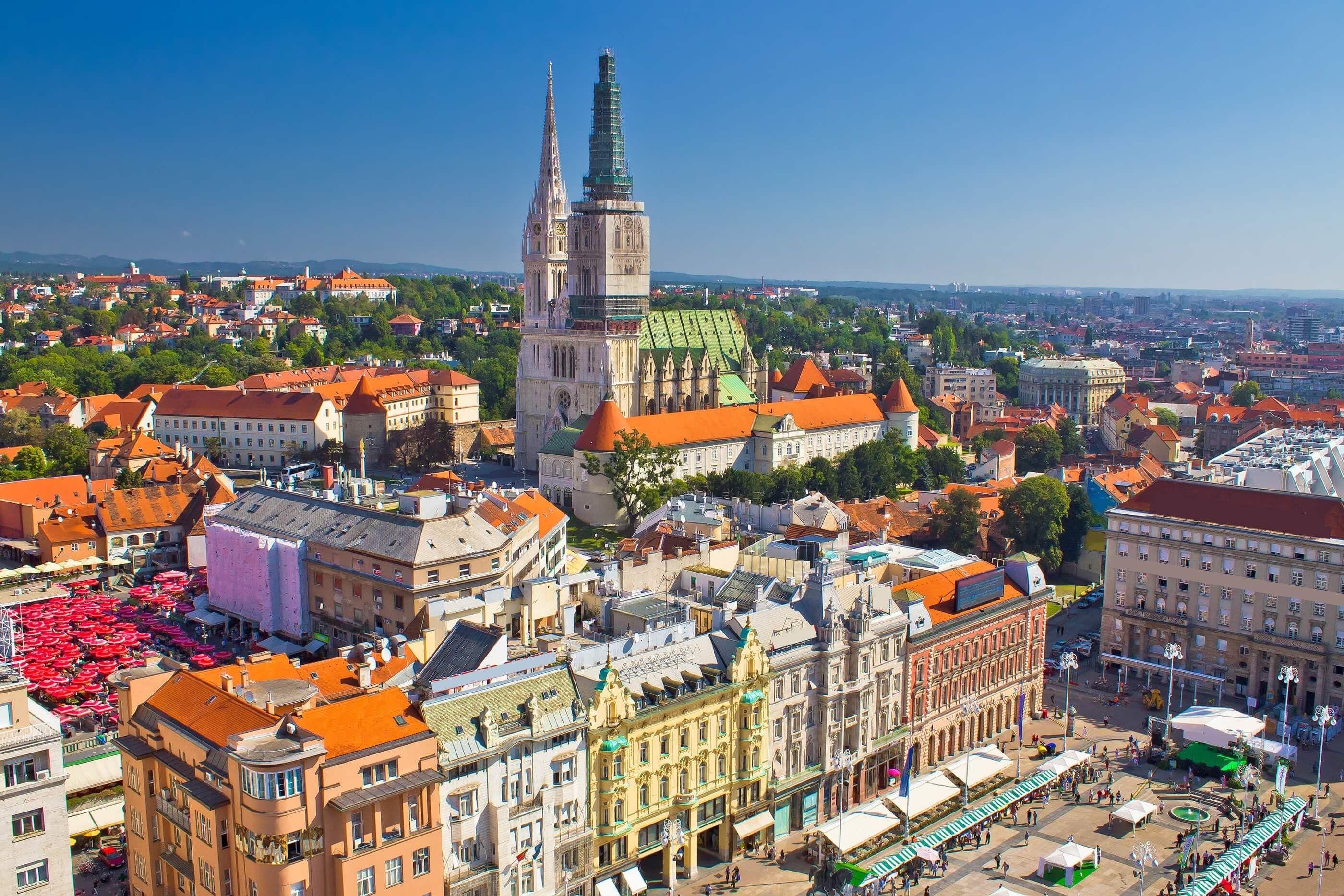 Vistas Desde Zagreb 360º Zagreb Croacia Croacia Zagreb Croacia Zagreb