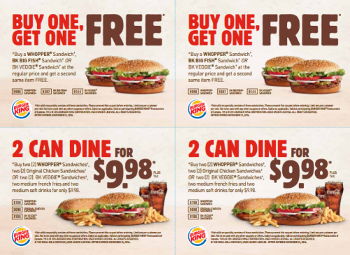 image about Burger King Printable Application named Free of charge Printable Coupon codes: Burger King Discount codes Very hot Discount codes