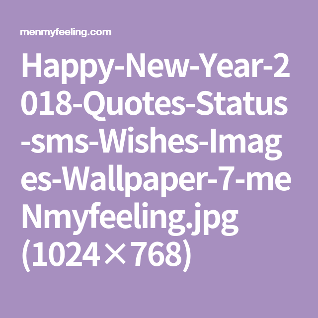 Happy New Year 2018 Quotes Status Sms Wishes